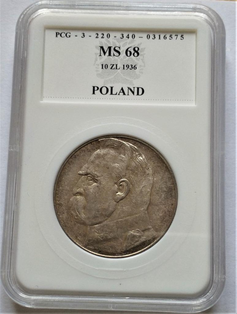 II RP 10 zł  1936 r  p123