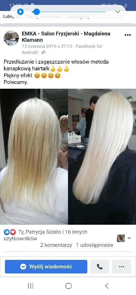 Wlosy Hairtalk Przedluzane Wlosy Blond Kup Teraz Za 700 00 Zl Lubichowo Allegro Lokalnie