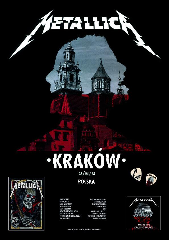 Metallica Krakow Kup Teraz Za 49 99 Zl Lodz Allegro Lokalnie