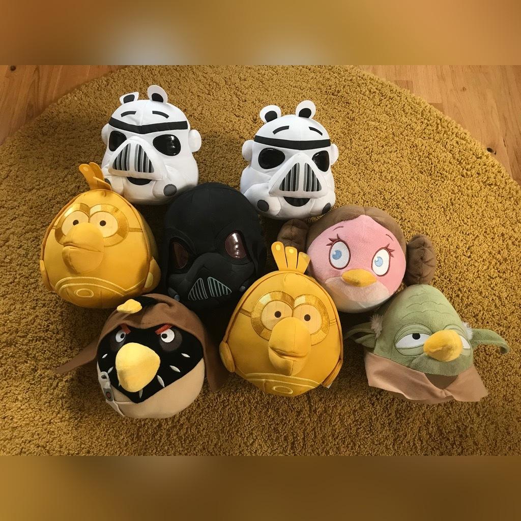 Maskotki Angry Birds Star Wars Kup Teraz Za 40 00 Zl Komorow Allegro Lokalnie