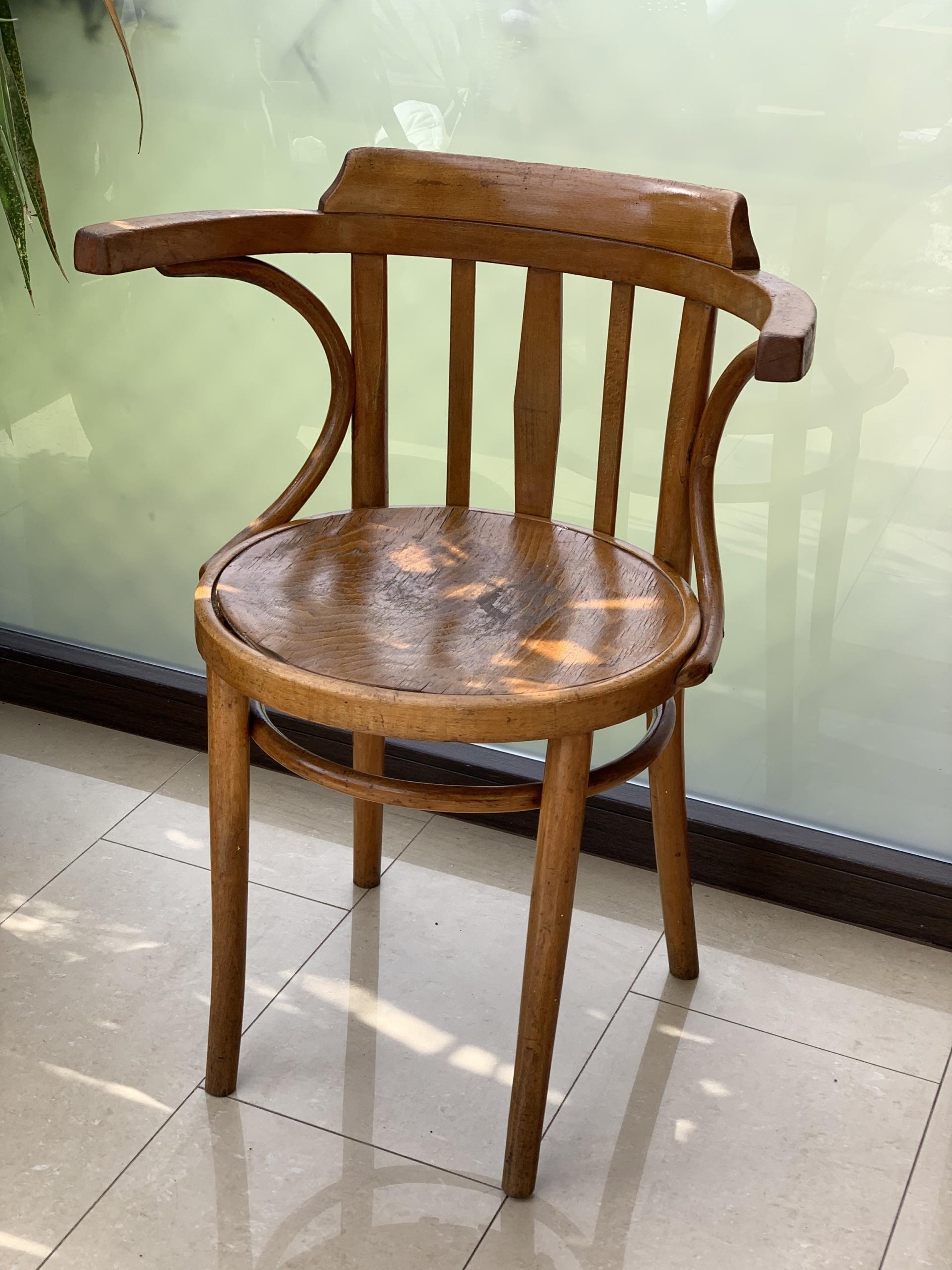 Кресло Thonet, 1920-е годы Сделано в Англии, Ори