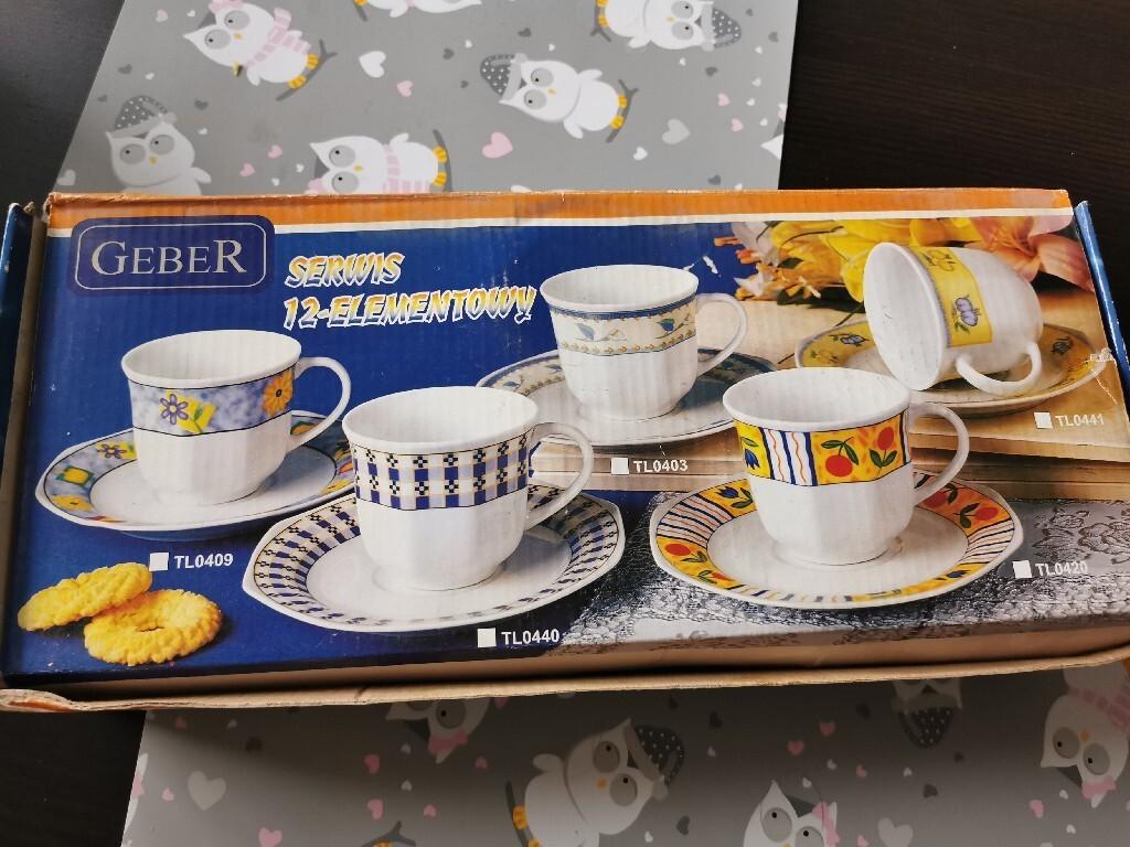 Serwis 12-elementowy do kawy Geber