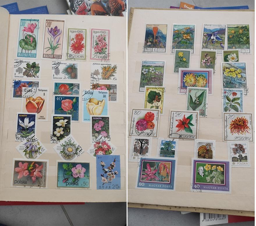 Stare znaczki pocztowe klaser ! 32 strony