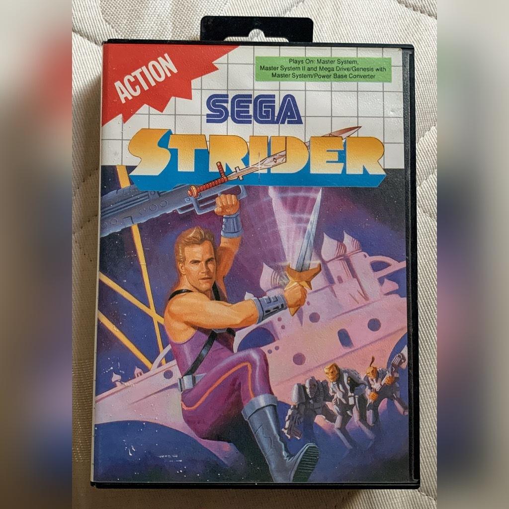 Купить Strider играет на Sega Master System II на Otpravka - цены и фото - доставка из Польши и стран Европы в Украину.
