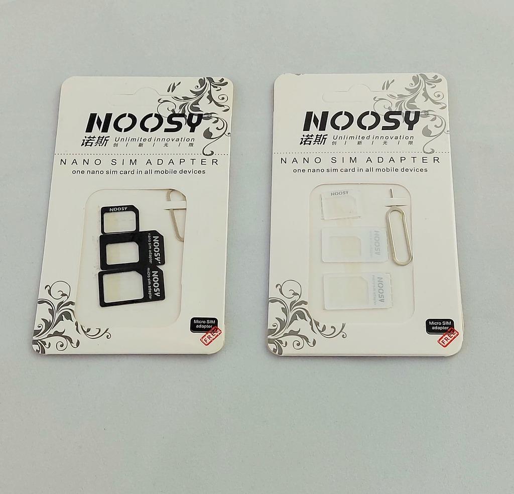 Zestaw Adapterow Noosy Karta Sim Nanosim Microsim Kup Teraz Za 2 00 Zl Zabki Allegro Lokalnie