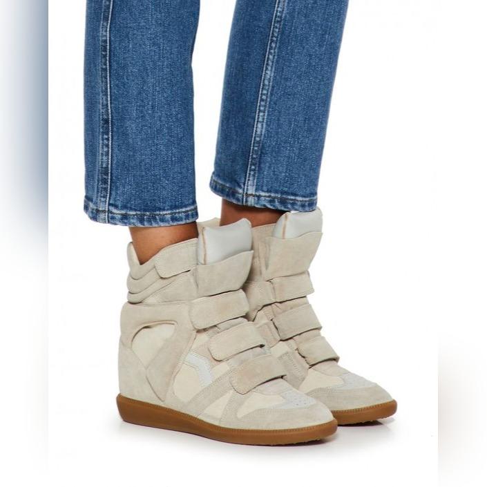 Buty Na Koturnie Isabel Marant Wedge Sneakers Kup Teraz Za 499 00 Zl Bielsko Biala Allegro Lokalnie