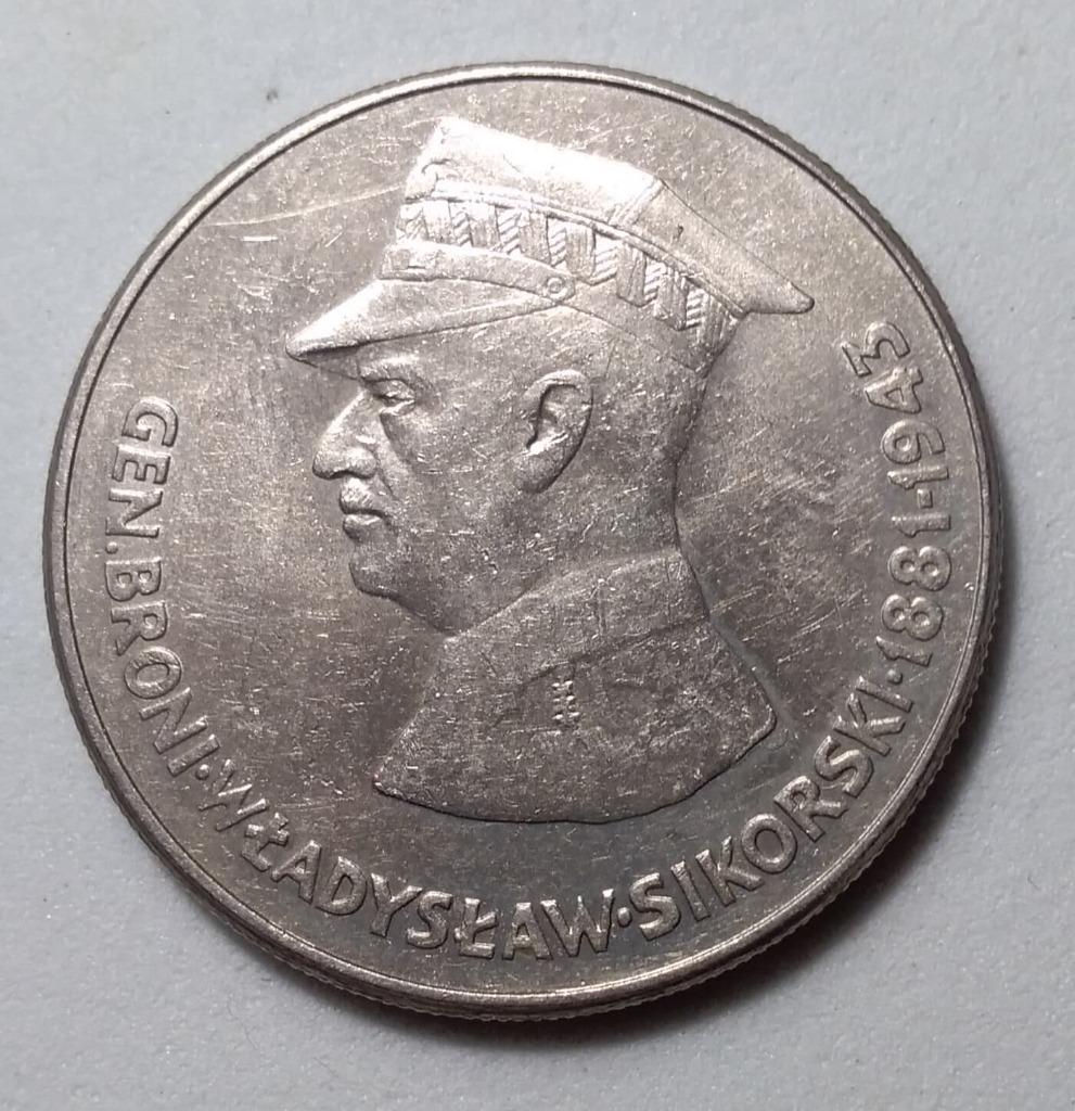 50 zł Władysław Sikorski r. 1981 MENNICZA BCM!