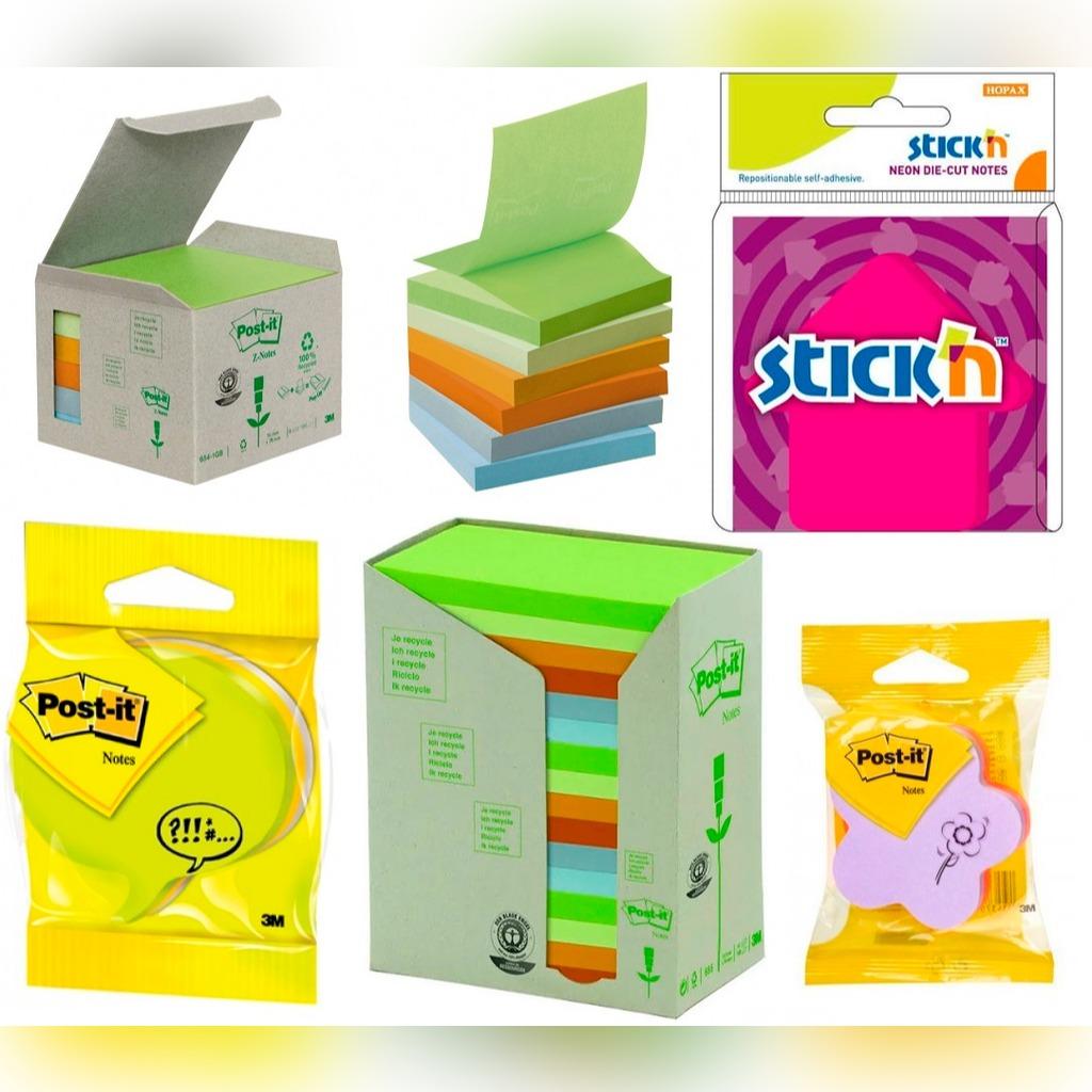 3m Post It Zakladki Neon Klej Kolorowe Karteczki Kup Teraz Za 10 00 Zl Zabrze Allegro Lokalnie