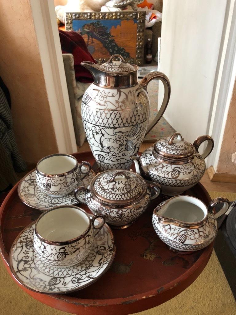 Piękny serwis tete a tete , porcelana Limoges