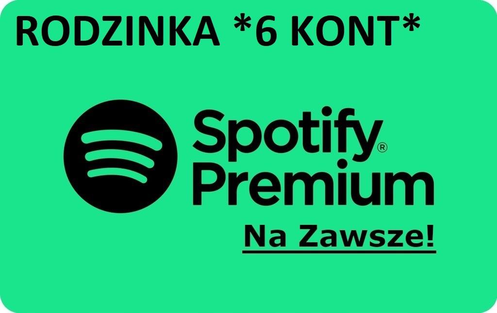 Spotify Rodzina Polskie Do 6 Kont Na Zawsze Kup Teraz Za 14 99 Zl Kielce Allegro Lokalnie