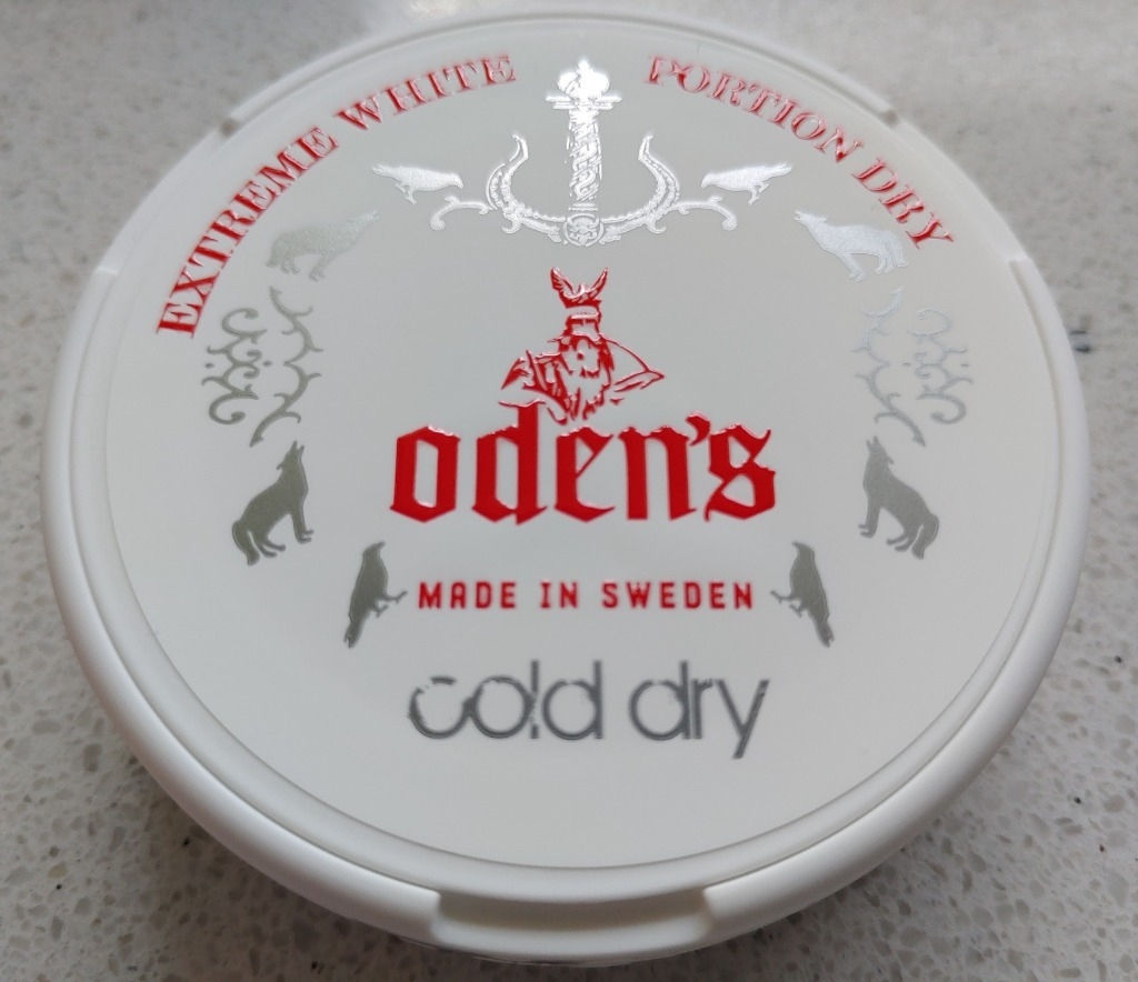 Холодная сухая коллекция Snus ODEN'S (XL16g.)