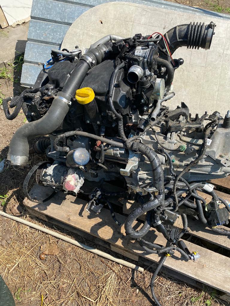 Двигатель k9kf64+ коробка renault nissan 1.5 dci 17r, фото 2
