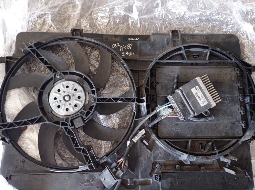 вентиляторы + modułsterownik audi a4b8 20 tdi
