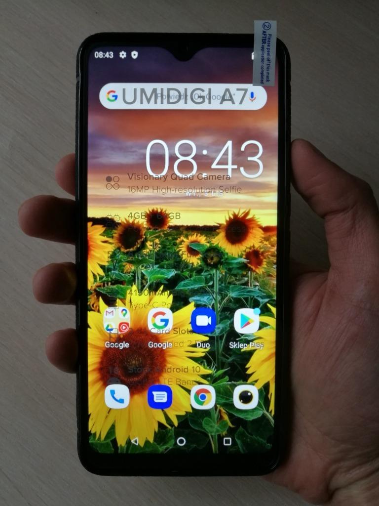 Купить Umidigi A7, 6.5cal, 4gb/64gb, HD+, an10, Nowy,z PL на Otpravka - цены и фото - доставка из Польши и стран Европы в Украину.