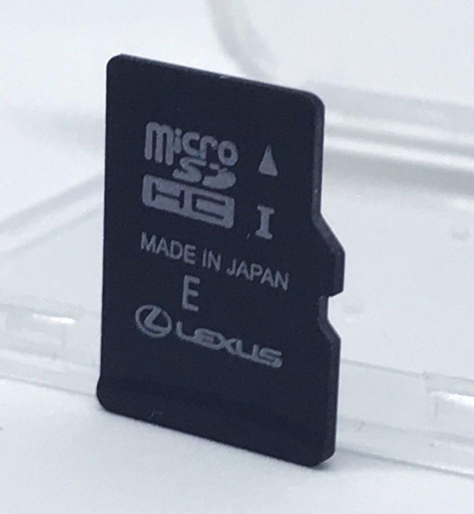 lexus премиум 2020v2 карта microsd обновление