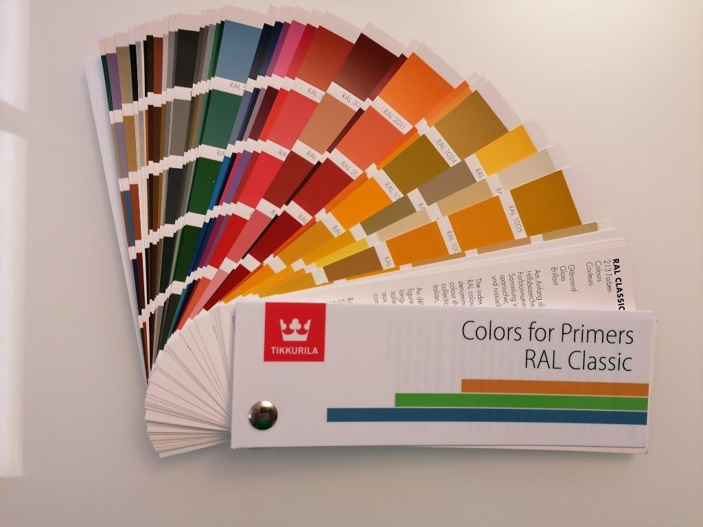 Wzornik RAL Classic, 213 kolorów