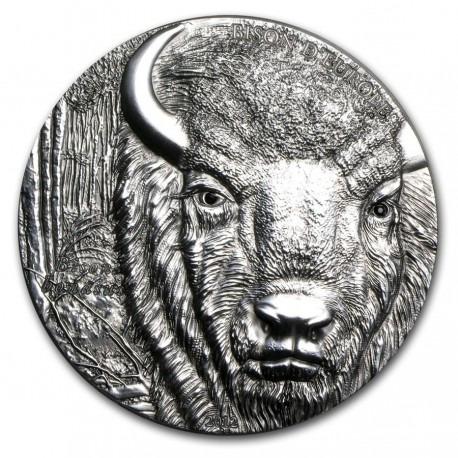 Togo 2012 2 oz Silver 1,500 Francs  European Bison