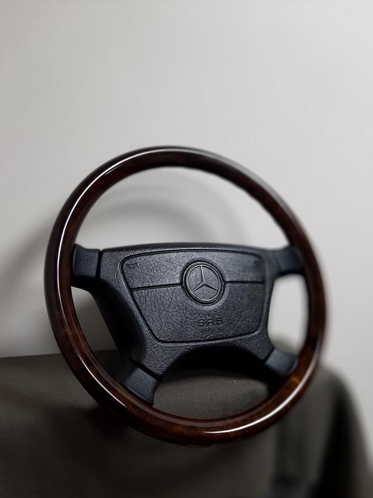 деревянный руль mercedes w124 w140 r129 amg