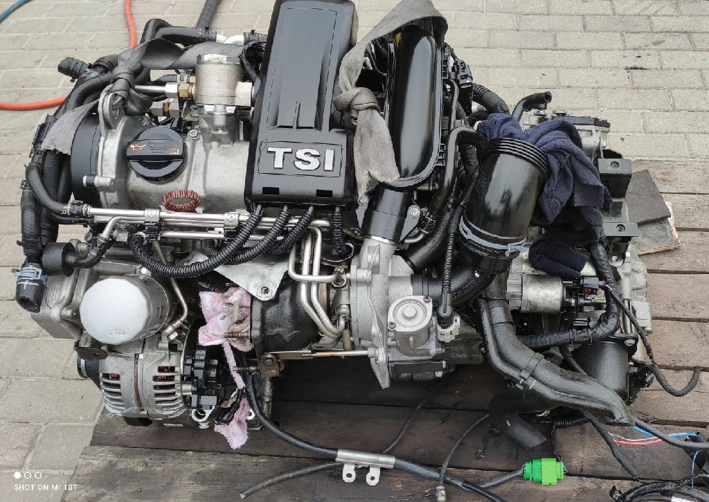 Двигатель комплектный skoda volkswagen seat 1.2 tsi cbz, фото 1