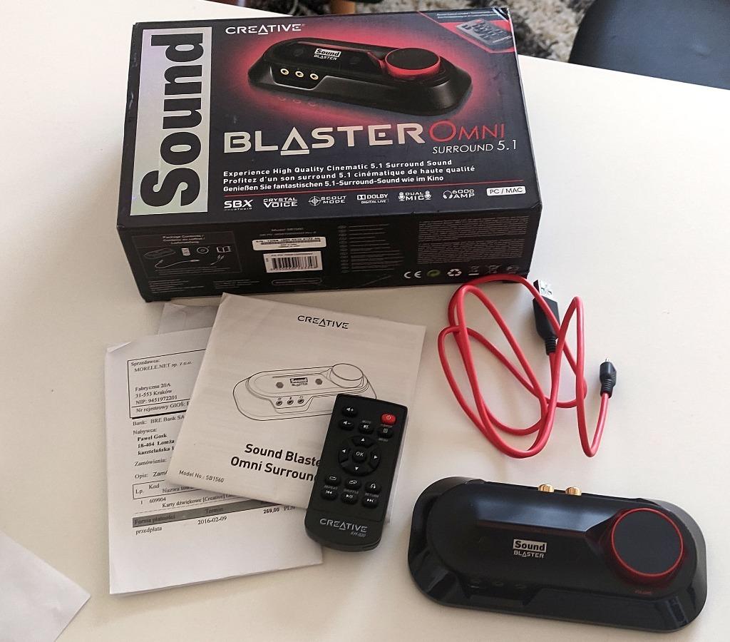 Купить Звуковая карта Sound Blaster Omni Surround 5.1 на Otpravka - цены и фото - доставка из Польши и стран Европы в Украину.