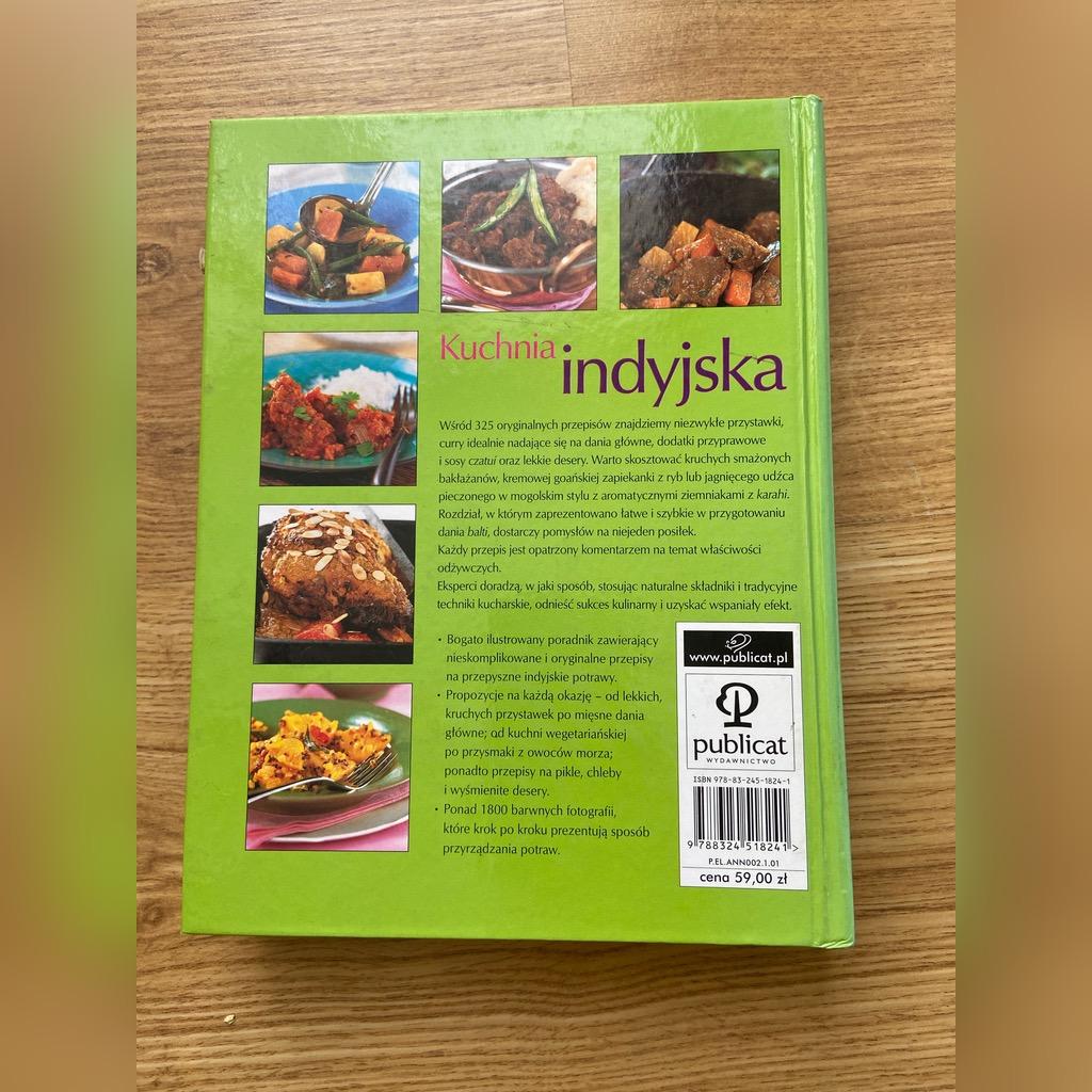 Kuchnia Indyjska Najlepsze Przepisy Kup Teraz Za 12 00 Zl Krakow Allegro Lokalnie