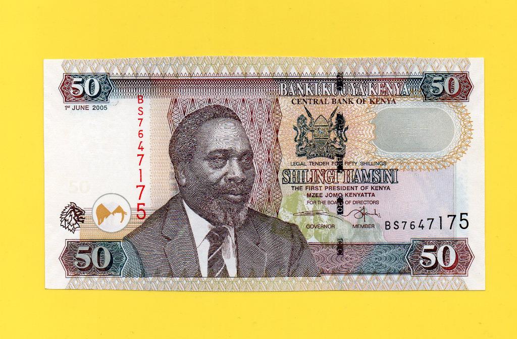 KENIA 50 SHILING UNC