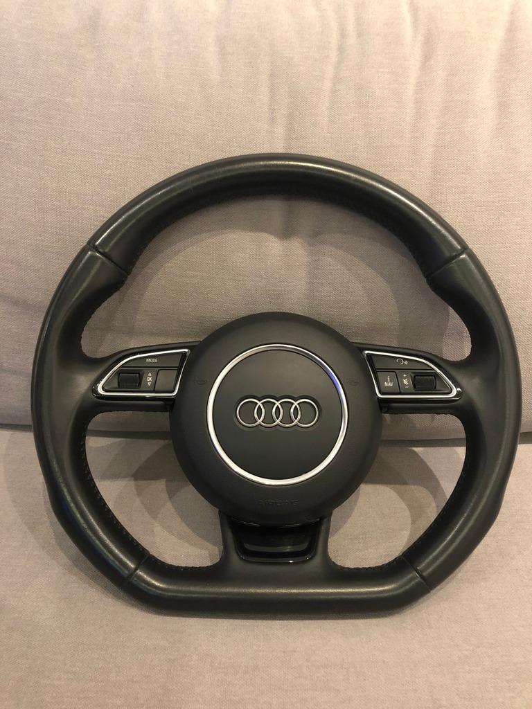 Kierownica ścięta Z Airbag Audi A4 B8 A5 A6 Q5 Q7 Kup Teraz Za 1800 00 Zł Białystok Allegro Lokalnie