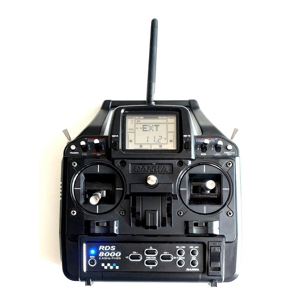 Zdalne sterowanie SANWA RDS 8000 - Kup teraz za: 420,00 zł - Lubin -  Allegro Lokalnie