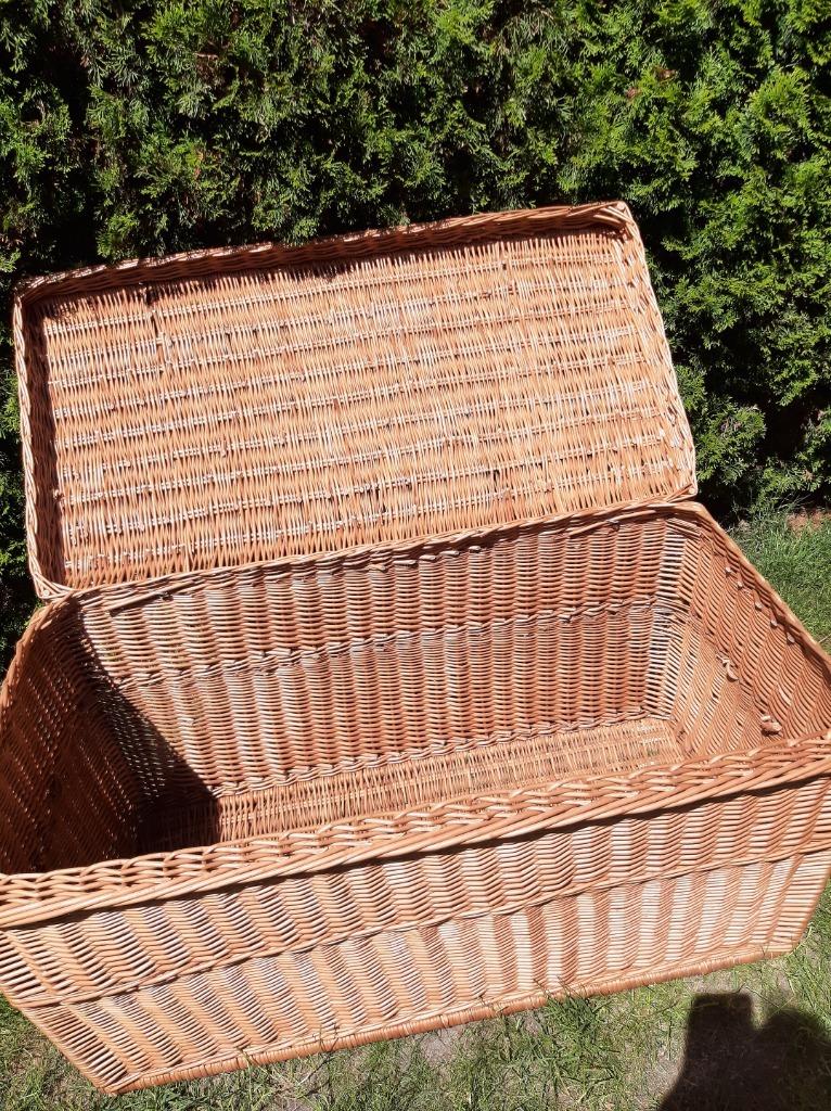 wiklinowy kufer duży 120 cm