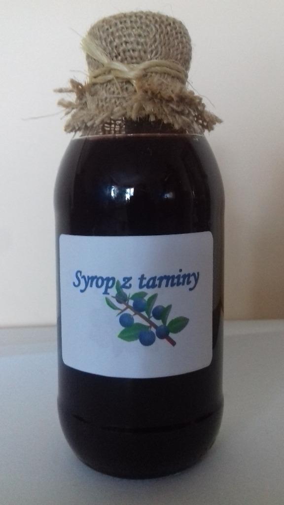Натуральный сироп из терновника, 330 мл. Сода поток