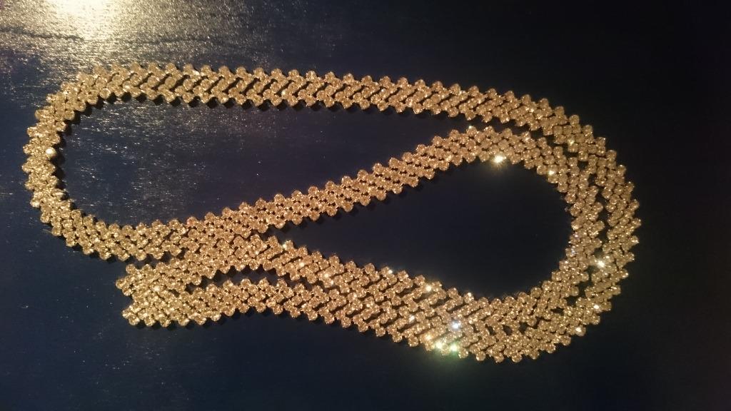 Licytacja Pasek Do Sukienki Sukni Slubnej Diamenty Cyrkonie Bedzin Allegro Lokalnie