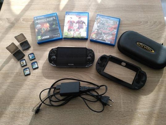 Купить Игровая консоль Sony PlayStation VITA + 9 игр на Otpravka - цены и фото - доставка из Польши и стран Европы в Украину.