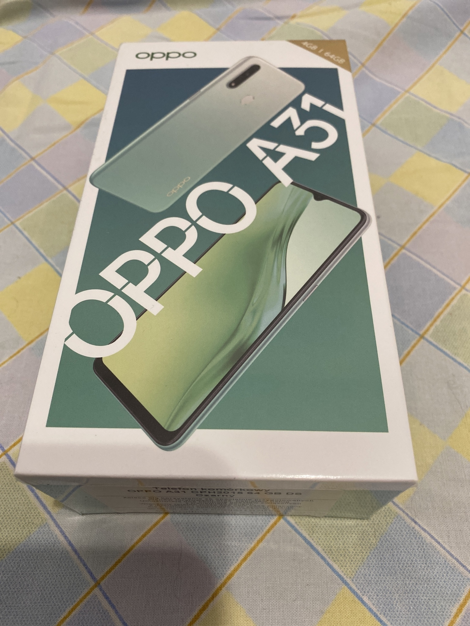 Купить Новый OPPO A31 4G / 64GB черный на Otpravka - цены и фото - доставка из Польши и стран Европы в Украину.