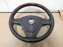 Cadillac cts 02-08r руль с подушка кожа