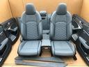 Audi rs6 a6 s6 c8 4k сиденье боковины exclusive blue