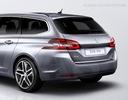 Peugeot 308 ii sw універсал молдинг хром кришка tuning