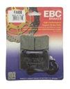 Колодки тормозные ebc fa658 к benelli bn 302