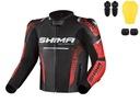 Shima str 2.0 blk red куртка мотоциклетна шкіряна