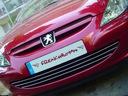 Peugeot 307 - молдинги хром решітка tuning