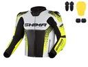 Shima str 2.0 yellow куртка мотоциклетная кожанная
