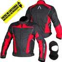 Куртка мотоциклетная adrenaline hercules red