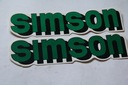 Наклейка наклейки simson s50 s51 ifa комплект 2 шт