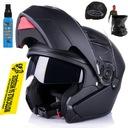 Черный шлем szczekowy ozone wind r xxl планка mat