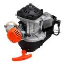 Двигатель mini cross 49cc комплектный 2t motor скутер