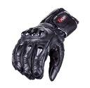 Wygodne крепкий перчатки мотоциклетные со кожи wolf m