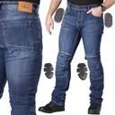 Джинс мотоциклетные штаны husar raven+ sas tec