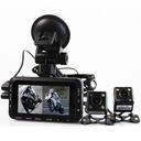 Wideo rejestrator мотоцикл 2x камера full hd 1080p