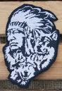 Indian naszywka wyszywana patch