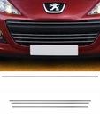Peugeot 207 - молдинги хром решітка tuning