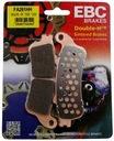 Колодки тормозные ebc honda gl 1800 goldwing 01-06